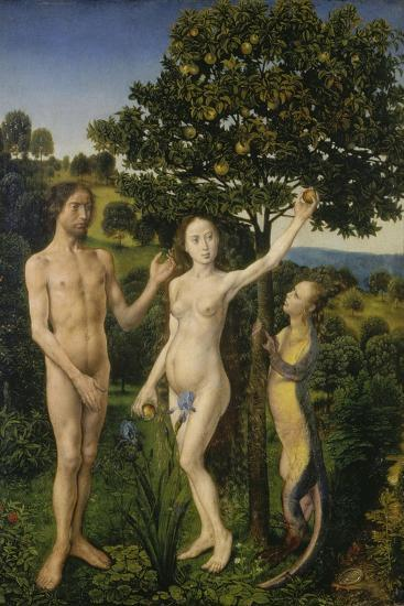 The Fall of Man, (Left Panel of a Diptych)-Hugo van der Goes-Giclee Print