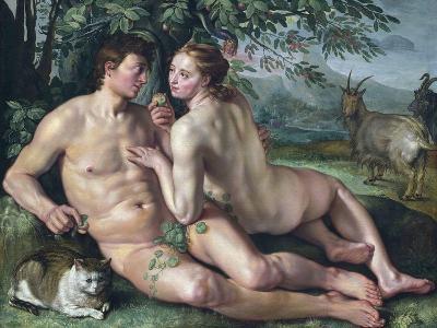 The Fall of Man-Hendrik Goltzius-Giclee Print