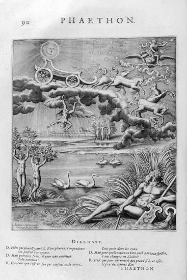 The Fall of Phaeton, 1615-Leonard Gaultier-Giclee Print