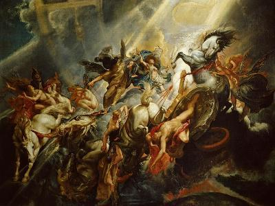 The Fall of Phaeton C.1604-08-Peter Paul Rubens-Giclee Print