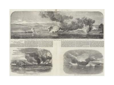 The Fall of Sebastopol-Oswald Walters Brierly-Giclee Print