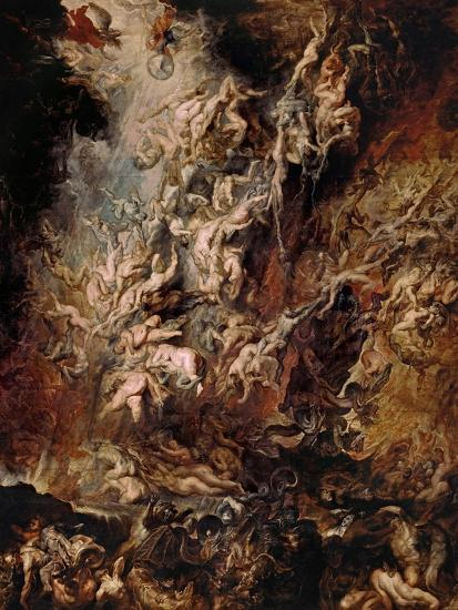 The Fall of the Damned-Peter Paul Rubens-Giclee Print