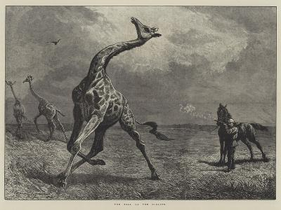 The Fall of the Giraffe--Giclee Print