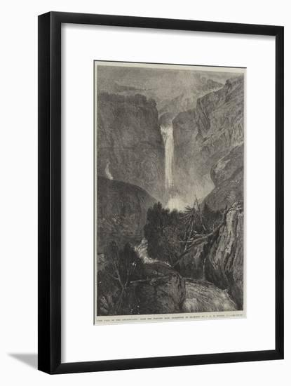 The Fall of the Reichenbach-J. M. W. Turner-Framed Premium Giclee Print