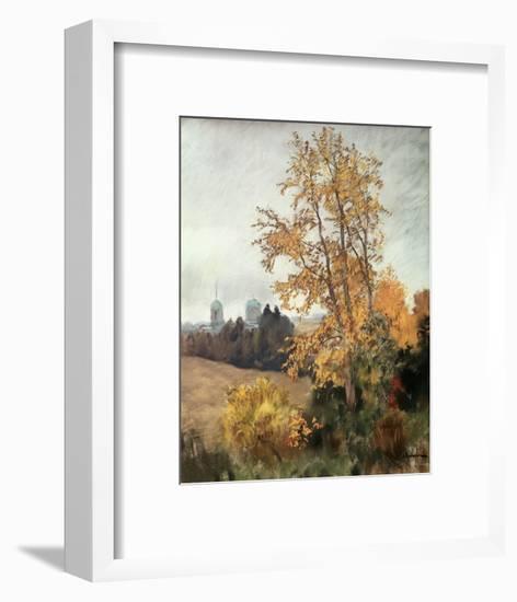 The Fall-Isaak Ilyich Levitan-Framed Giclee Print