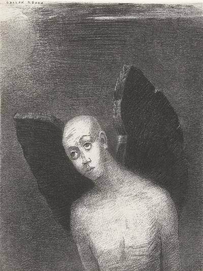 The Fallen Angel, 1886-Odilon Redon-Giclee Print