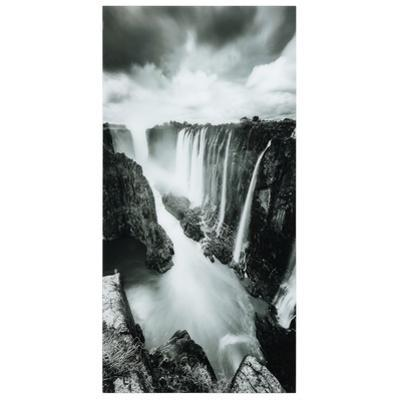 The Falls - Free Floating Tempered Glass Wall Art