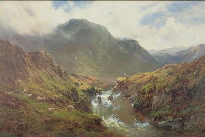 The Falls of Foyers-Alfred De Breanski-Giclee Print