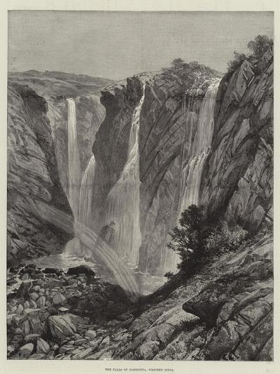 The Falls of Gairsoppa, Western India--Giclee Print