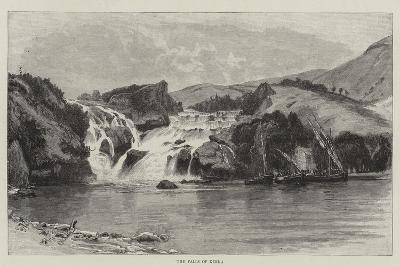 The Falls of Kerka--Giclee Print