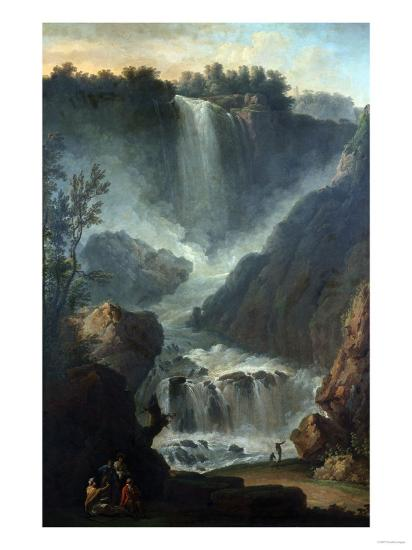 The Falls of Terni-Hendrik Avercamp-Giclee Print
