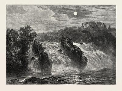The Falls of the Rhine, 19th Century--Giclee Print