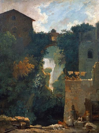 The Falls of Tivoli, 1760-1762-Jean-Honor? Fragonard-Giclee Print