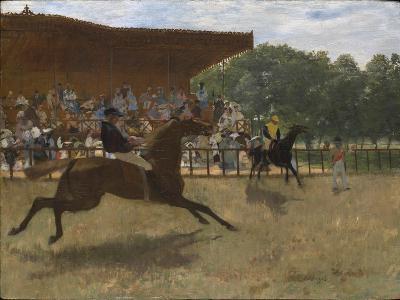 The False Start, c.1869-72-Edgar Degas-Giclee Print