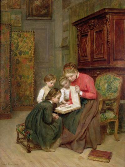 The Family Album, 1869-Charles Edouard Frere-Giclee Print