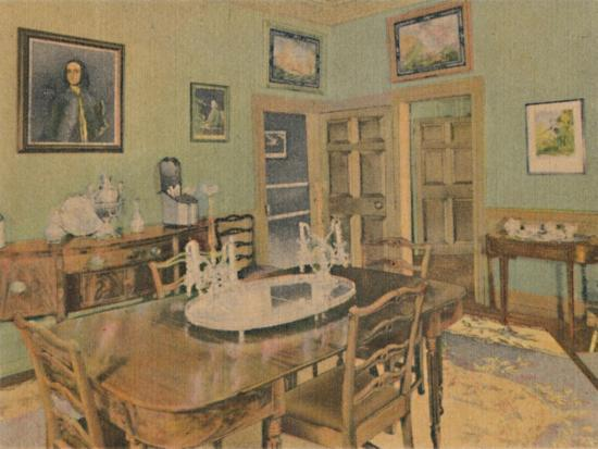 'The Family Dining Room', 1946-Unknown-Giclee Print