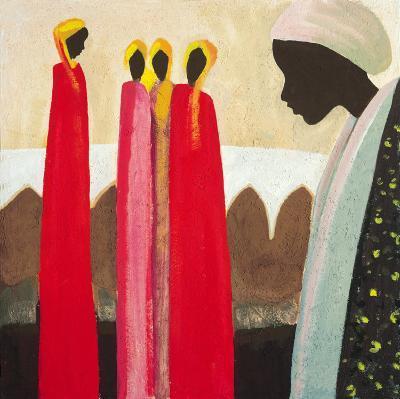 The Family I-Jerome Obote-Art Print
