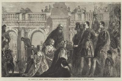 The Family of Darius before Alexander-Veronese-Giclee Print