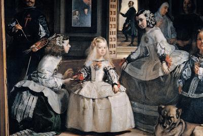 The Family of Philip IV (Las Meninas)-Diego Velazquez-Giclee Print