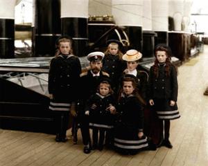 The Family of Tsar Nicholas II of Russia, C1906-C1907
