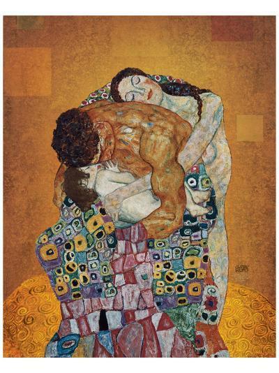 The Family-Gustav Klimt-Premium Giclee Print
