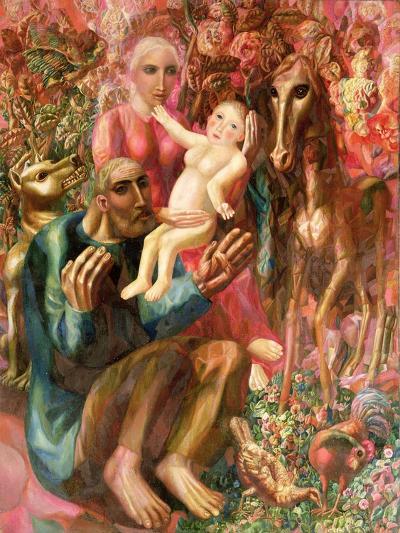 The Family-Pavel Nikolayevich Filonov-Giclee Print