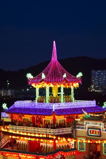 The Fantastic Lighting of Kek Lok Si Temple in Penang, Malaysia-Micah Wright-Photographic Print