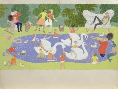 The Fantastic Park, 1961-John Armstrong-Giclee Print