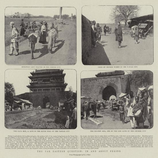 The Far Eastern Question, in and About Peking--Giclee Print