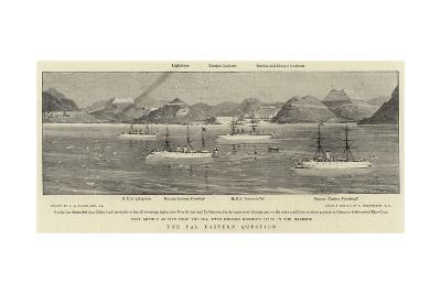 The Far Eastern Question-Charles Joseph Staniland-Giclee Print