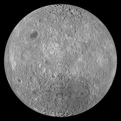 The Far Side of the Moon-Stocktrek Images-Photographic Print