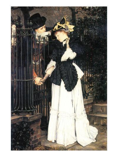 The Farewell-James Tissot-Art Print