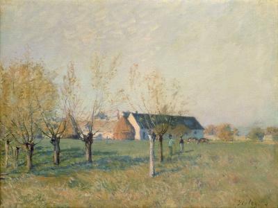 The Farm, 1874-Alfred Sisley-Giclee Print