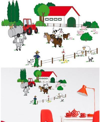The Farm 24 Wall Stickers--Wall Decal