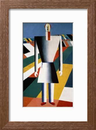 The Farmer In The Field Giclee Print Kasimir Malevich Art Com