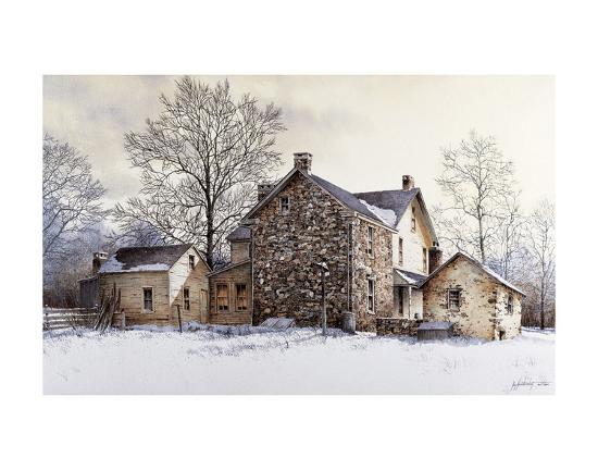 The Farmer's Daughter-Ray Hendershot-Art Print