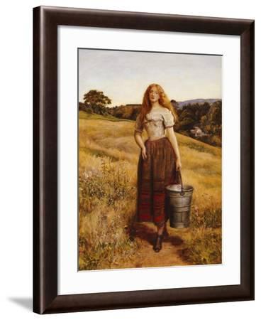 The Farmer's Daughter-John Everett Millais-Framed Giclee Print