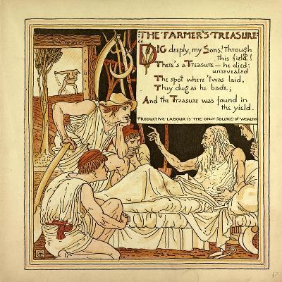 The Farmer's Treasure--Giclee Print