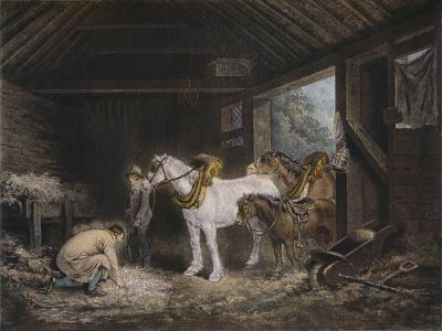 The Farmers Stable, (1791) 1901-George Morland-Giclee Print