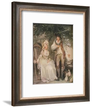 'The Farmyard', c1797-William Nutter-Framed Giclee Print