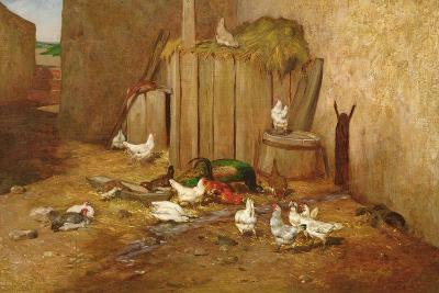 The Farmyard-Philibert-Leon Couturier-Giclee Print