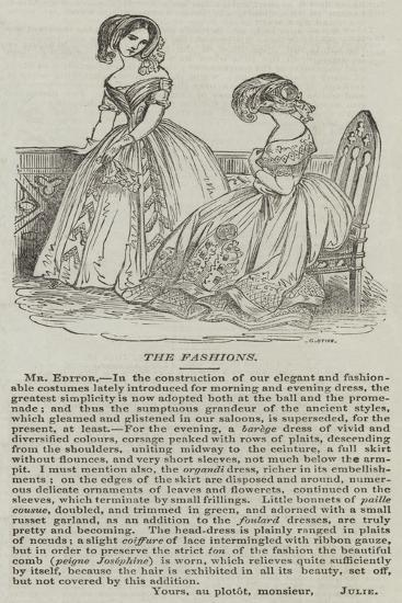 The Fashions--Giclee Print