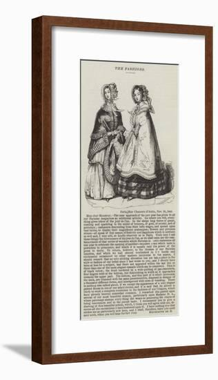 The Fashions--Framed Giclee Print