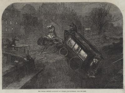 The Fatal Omnibus Accident at Dublin, on Saturday, the 6th Inst--Giclee Print