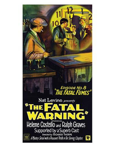 The Fatal Warning - 1929--Giclee Print