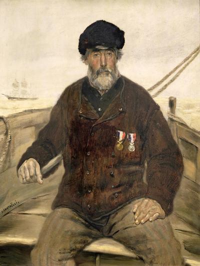The Father Alcazia-Jean Francois Raffaelli-Giclee Print