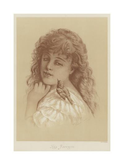 The Favorite-Florence Claxton-Giclee Print