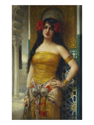 The Favourite of the Harem-Leon Francois Comerre-Giclee Print