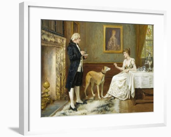 The Favourite-George Goodwin Kilburne-Framed Giclee Print