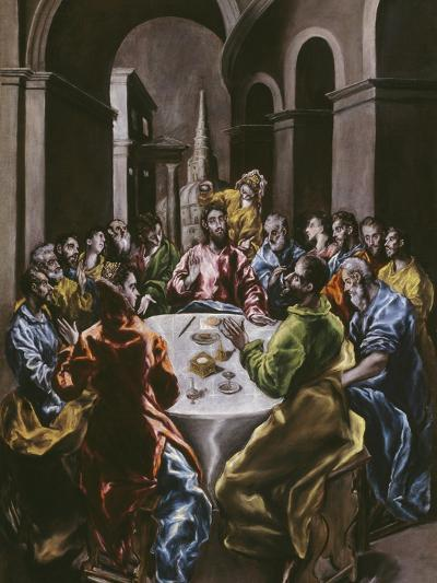 The Feast in the House of Simon, 1608-14-El Greco-Giclee Print